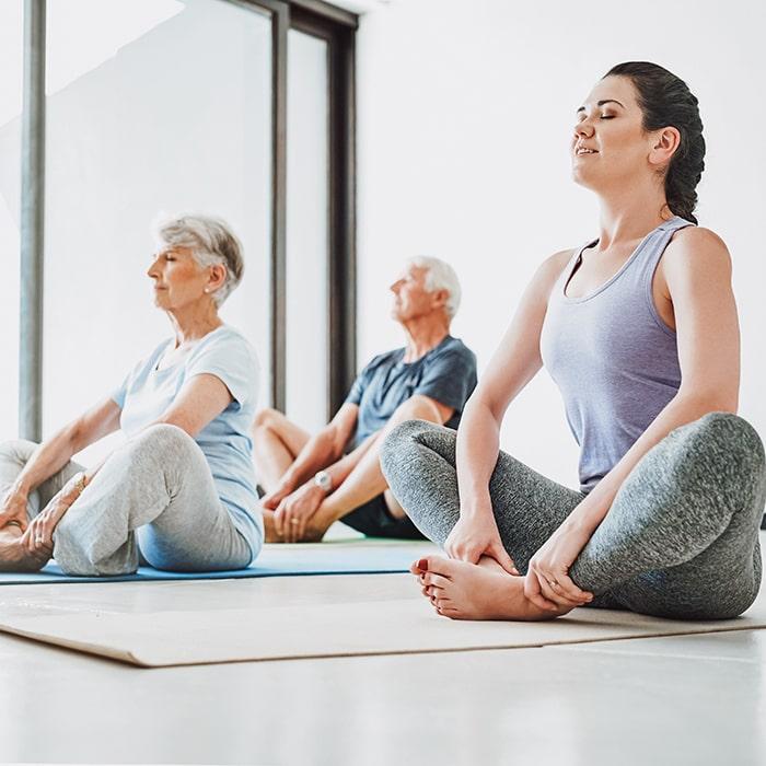 Gruppenkurs Yoga im VERSO