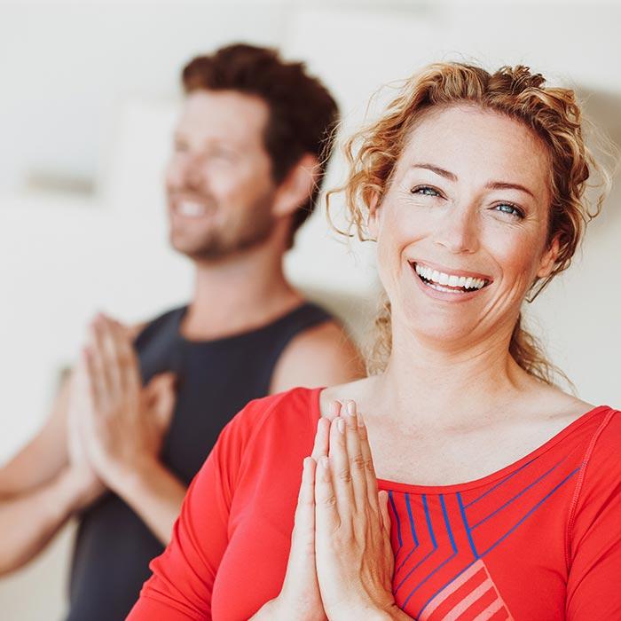 Yoga im VERSO macht glücklich