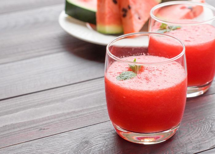 Kalorienarm und erfrischend: Der Wassermelonen-Smoothie