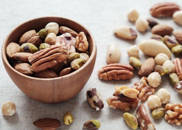 Snack Nüsse gegen Heißhunger