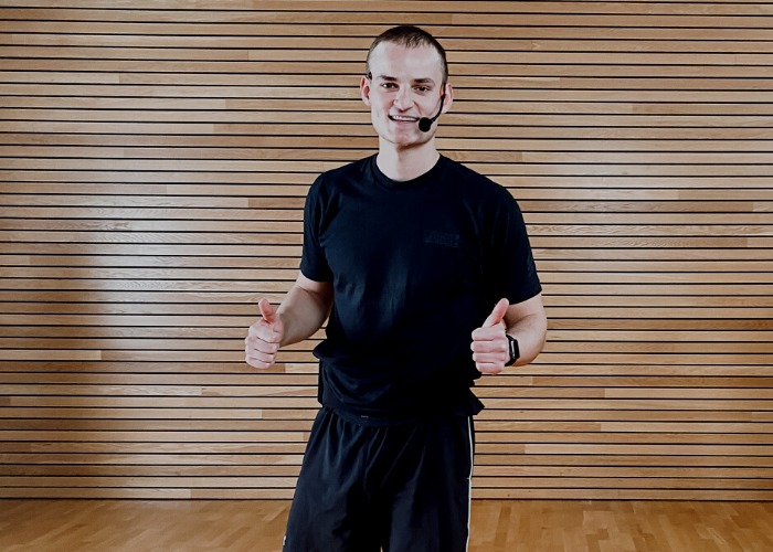 Home Workout mit Trainer Jakob aus dem VERSO